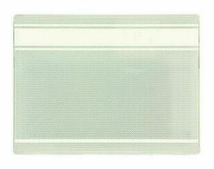 Panneau rayonnant électrique 1000W larg.59,1cm haut.45,1cm prof.13,5cm blanc - Gedimat.fr