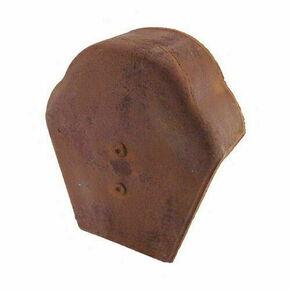 Fronton de faîtière pour tuiles RESIDENCE coloris brun rustique - Gedimat.fr