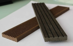 Profil de finition composite pour lame SWING ép.10mm larg.50mm long.2,85m chataigne - Gedimat.fr