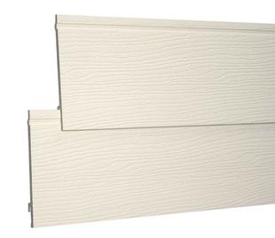Bardage PVC cellulaire original à emboitement 18 x 167 mm utile (210 mm hors tout) Long.4 m Beige - Gedimat.fr