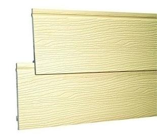 Bardage PVC cellulaire original à emboitement 18 x 167 mm utile (210 mm hors tout) Long.4 m Sable - Gedimat.fr