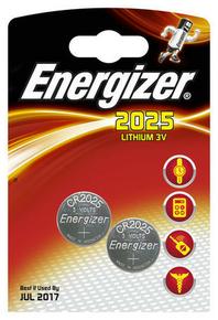 PILE CR2025 3V LITHIUM ENERGIZER B2 - Gedimat.fr