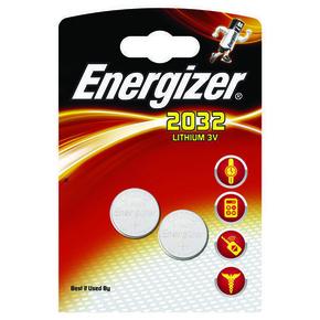 Pile lithium ENERGIZER type CR2032 3 volts sous blister de 2 piles - Gedimat.fr