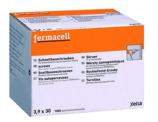 Vis autoperceuses FERMACELL 3,9x30mm boite de 1000 - Gedimat.fr