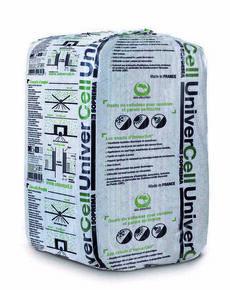 Ouate de cellulose UNIVERCELL en vrac sac de 12,5kg avec sel de bore - Gedimat.fr