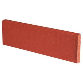 Plaquette de parement en terre cuite long.22cm haut.5,4cm ép.1,5cm ligne brique étirée unie coloris terre rouge - Gedimat.fr