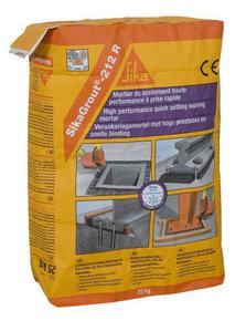 mortier de scellement prise rapide sikagrout 212r sac de. Black Bedroom Furniture Sets. Home Design Ideas
