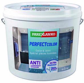 Joint époxy pour la réalisation de joints de 2 à 15 mm résistants à l'eau PERFECT COLOR coloris anthracite sac de 2,5kg - Gedimat.fr
