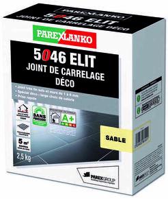 Joint de carrelage déco 1 à 6mm 5046 ELIT seau de 2,5kg coloris sable - Gedimat.fr
