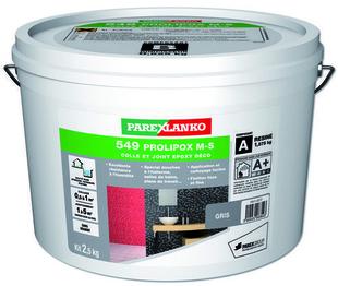 Joint époxy pour la réalisation de joints de 2 à 15 mm résistants à l'eau PERFECT COLOR coloris gris 2,5kg - Gedimat.fr