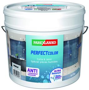 Joint époxy pour la réalisation de joints de 2 à 15 mm résistants à l'eau PERFECT COLOR coloris perle 5kg - Gedimat.fr