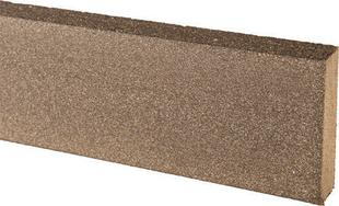 Profil de finition composite pour lame composite FOREXIA ELEGANCE ép.20mm larg.70mm long.2m Gris anthracite - Gedimat.fr