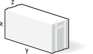 Bloc de béton cellulaire M211 ép.20cm long.60cm haut.30cm - Gedimat.fr