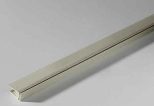 Profil PVC départ clipsable Long.2,60 m Ep.8 à 10mm Blanc - Gedimat.fr