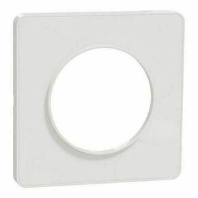 Plaque de finition pour appareillage encastré à composer Odace Touch blanc/liseré blanc - Gedimat.fr
