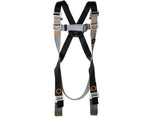 Harnais de sécurité avec anneaux antichute dorsal et frontaux taille unique - Gedimat.fr