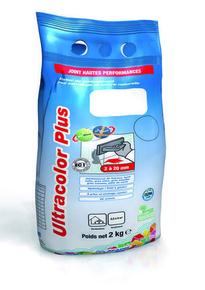 Mortier de jointoiement hydrofuge ULTRACOLOR PLUS 100 classe CG2WA sac de 2kg coloris blanc - Gedimat.fr