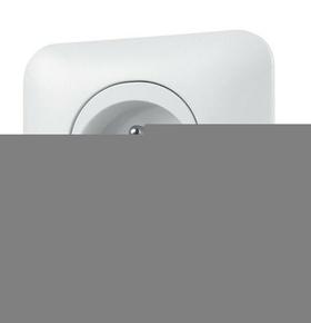Prise de courant 2P + Terre encastrée mono référence connexion automatique Ovalis blanc - Gedimat.fr