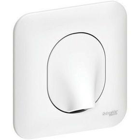 Sortie de câble encastrée mono référence Ovalis blanc - Gedimat.fr