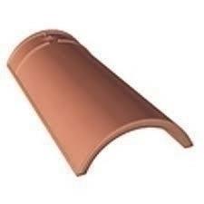 Faîtière/Arêtier conique de 40 GALLEANE/OCCITANE en terre cuite coloris rouge - Gedimat.fr