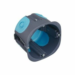 Boîte d'encastrement 1 poste pour cloison creuse Stop Air diam.67mm prof.50mm - Gedimat.fr