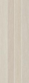 Décor Lineas carrelage pour mur en faïence SOHO larg.25cm long.70cm coloris arena - Gedimat.fr