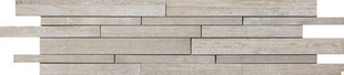 Décor Muretto carrelage pour mur en grès cérame émaillé BETONAGE larg.15cm long.60cm coloris brune - Gedimat.fr