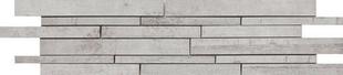 Décor Muretto carrelage pour mur en grès cérame émaillé BETONAGE larg.15cm long.60cm coloris gris - Gedimat.fr