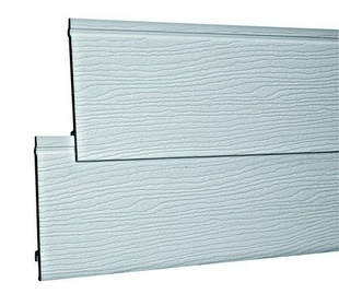bardage simple pvc cellulaire durasid simple gris clair. Black Bedroom Furniture Sets. Home Design Ideas