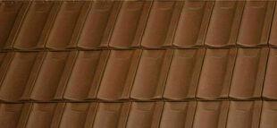 Tuile JURA PV coloris brun - Gedimat.fr