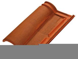 tuile romane evolution tbf coloris brun rustique. Black Bedroom Furniture Sets. Home Design Ideas