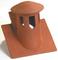 Tuile à douille PLATE 20x30 diam.125mm + lanterne incorporée coloris paysage - Gedimat.fr