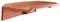 Rive rabat gauche H10 tenon très haut à glissement coloris ardoise - Gedimat.fr