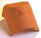 Rencontre porte poinçon 3 ouvertures, 1 faîtière demi ronde 2 arêtiers angulaires coloris ambre - Gedimat.fr