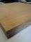 Plan de travail bambou massif vertical caramel larg.65cm long.3,05m ép.40mm à finir - Gedimat.fr