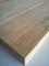 Plan de travail chêne massif brut lamellé-abouté à finir larg.65cm long.3,10m ép.32mm - Gedimat.fr