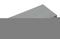 Chaperon CLASSIQUE plat haut.4cm larg.28cm long.49cm coloris gris - Gedimat.fr