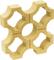 Claustra FLORENCE dim.40x40cm coloris ton pierre - Gedimat.fr