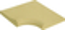 Margelle piscine d'angle intérieur AQUITAINE dim.50x50x33cm rayon.15cm coloris pierre du lot - Gedimat.fr