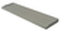 Seuil de porte CLASSIQUE ép.4,5cm larg.33,5cm long.90cm coloris gris - Gedimat.fr