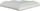 Margelle piscine d'angle DECO droite dim.33x33cm rayon.15cm coloris blanc cassé - Gedimat.fr