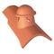 Tuile à douille STOP avec lanterne diam.80mm coloris rouge - Gedimat.fr