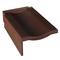 Tuile de rive à rabat gauche FRANCHE-COMTE coloris brun masse - Gedimat.fr