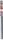 Bas de porte en aluminium fixations invisibles avec brosse long.0,93m - Gedimat.fr