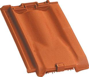 Tuile de ventilation PROVINCIALE + grille coloris rouge nuance - Gedimat.fr