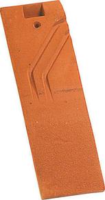 Demi-tuile PLATE 17x27 Phalempin coloris ambre - Gedimat.fr