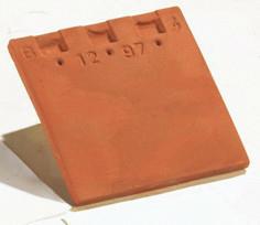 Tuile courte d'égout et de faîtage PLATE 20x30 coloris quercy - Gedimat.fr
