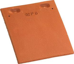 Tuile et 1/2 PLATE PRESSEE 17x27 rectangulaire coloris Chevreuse - Gedimat.fr