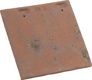 Tuile courte d'égout et de faîtage pour Plate Pressée 27x41 coloris Chevreuse - Gedimat.fr
