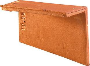Rive individuelle droite PLATE 17x27 Phalempin coloris ambre - Gedimat.fr